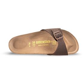 Birkenstock Madrid Sandals Birko-Flor Nubuk Narrow, mocca